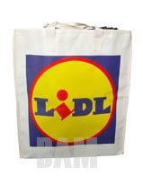 shopping bag made of woven pp